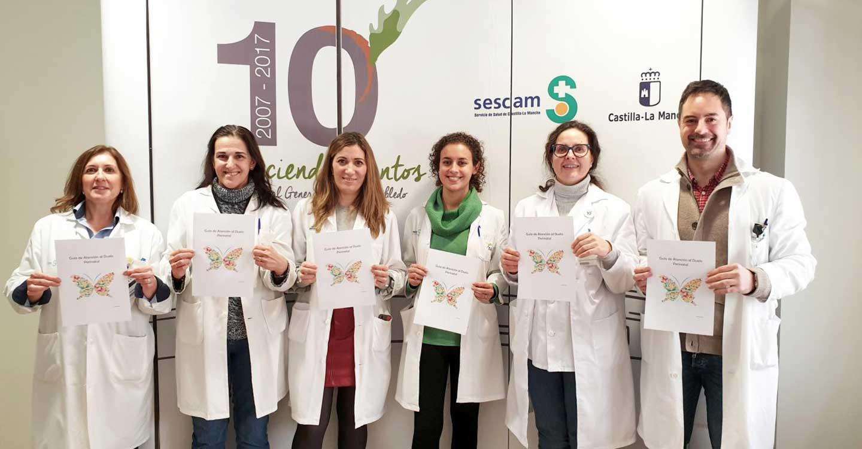 La Gerencia de Atención Integrada de Villarrobledo edita una guía para lograr una atención más humanizada en el proceso de duelo perinatal