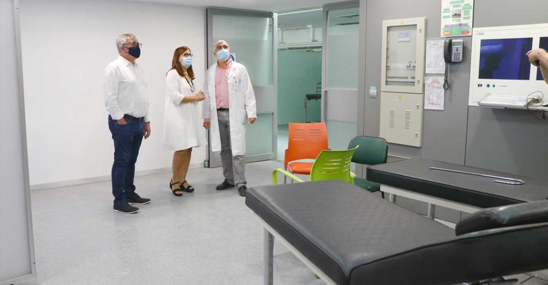El Gobierno de Castilla-La Mancha prevé disponer del Área de Urgencias del Hospital de Hellín a finales de septiembre