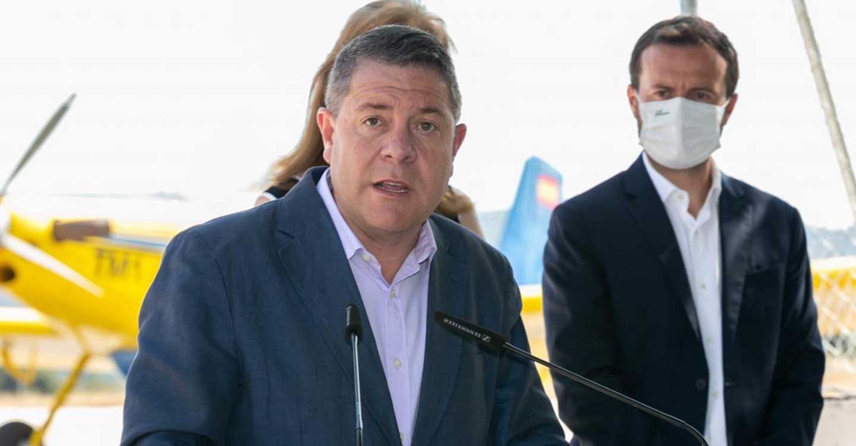 El Gobierno de Castilla-La Mancha instará a la UE a la modificación de la legislación que permita el vuelo nocturno en la extinción de incendios
