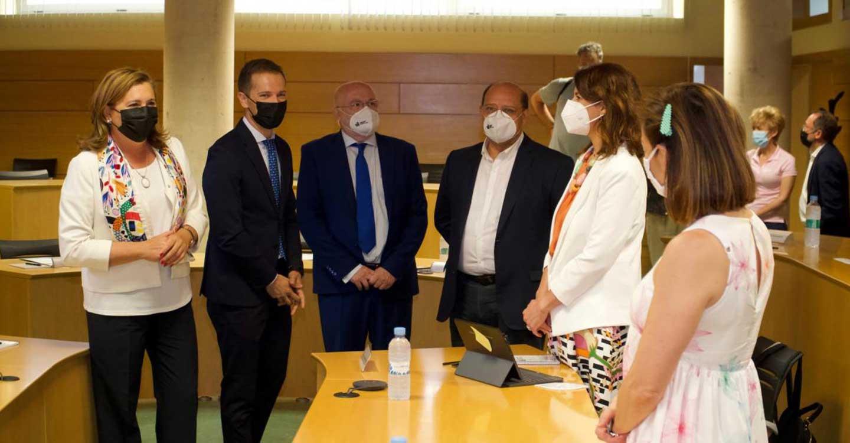 El Gobierno de Castilla-La Mancha destaca la colaboración que existe entre la Junta, el Parque Científico, Globalcaja y Ingeteam para el desarrollo de acciones de FP Dual