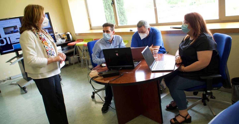 El Gobierno de Castilla-La Mancha destaca que el nuevo espacio coworking del Parque Científico favorecerá la proyección internacional de las empresas de nueva creación