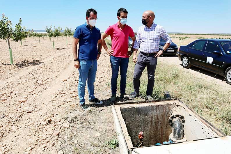 El Gobierno de Castilla-La Mancha garantiza el abastecimiento de agua potable en Pozuelo