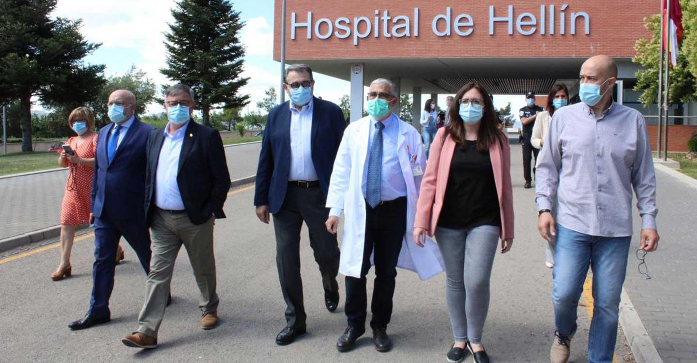 El Gobierno de Castilla-La Mancha realizará tres actuaciones de reforma en el Hospital de Hellín