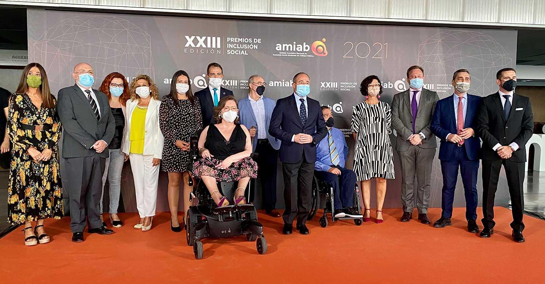 El Gobierno de Castilla-La Mancha respalda la labor de AMIAB por la inclusión social de las personas con discapacidad de la región