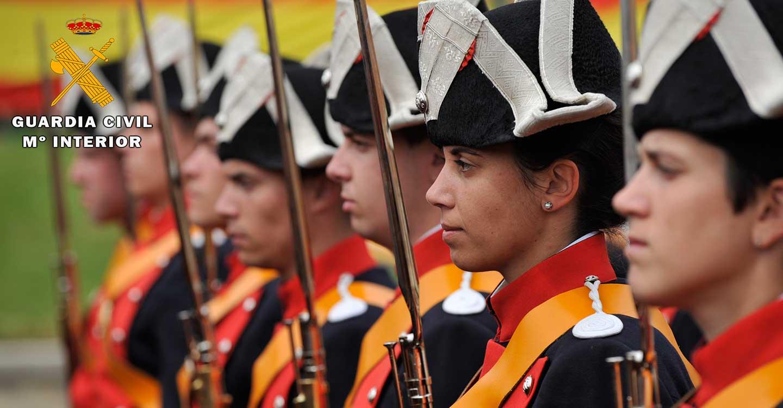 La Guardia Civil de Albacete celebra un sencillo acto en el 176º aniversario de su fundación por el Duque de Ahumada