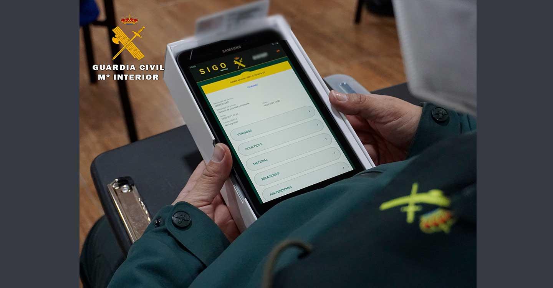 La Guardia Civil de Albacete mejora su servicio a la ciudadanía con la aplicación SIGO-movilidad