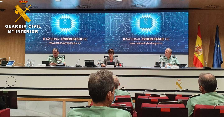 "La Guardia Civil de Albacete organiza la ""II Liga Nacional Interuniversitaria de Retos del Ciberespacio"""