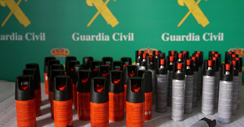 La Guardia Civil inmoviliza a un autobús, cuyo conductor arrojó resultado positivo en la prueba de detección de drogas
