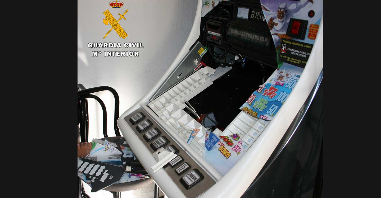 La Guardia Civil de Almansa detiene al autor de varios robos con fuerza cometidos en establecimientos públicos de Almansa