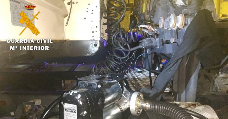 La Guardia Civil detiene a dos personas por sustraer combustible de camiones estacionados en áreas de servicio de la autovía A-31