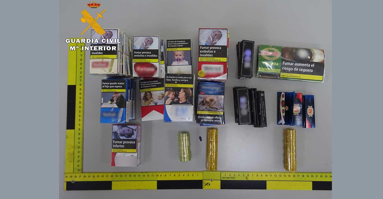 La Guardia Civil de Albacete detiene a dos personas por el robo en un establecimiento público