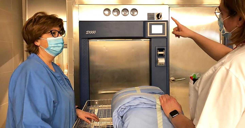 El Hospital General de Villarrobledo optimiza su sistema de trazabilidad para el instrumental y material quirúrgico