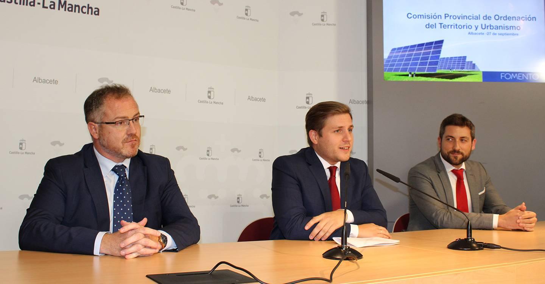 La Comisión de Ordenación del Territorio y Urbanismo de Albacete aprueba los trámites para tres proyectos de energía limpia
