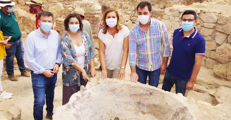 Libisosa se convertirá en el sexto parque arqueológico de Castilla-La Mancha
