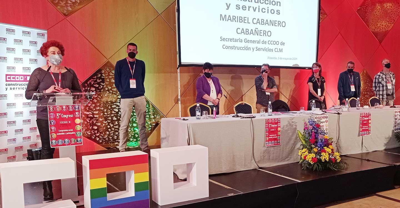 Maribel Cabañero, nueva secretaria general de CCOO-Construcción y Servicios CLM