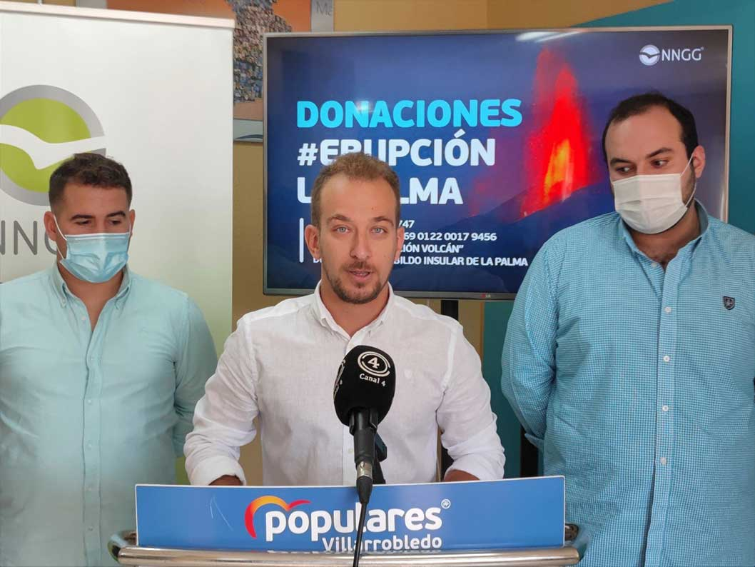 NNGG España iniciará una campaña solidaria para ayudar a los vecinos afectados por la erupción volcánica de La Palma