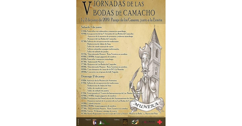Nueva cita con las V Jornadas de las Bodas de Camacho en Munera
