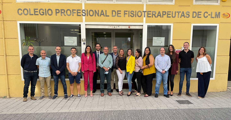 El Colegio Profesional de Fisioterapeutas de Castilla-La Mancha nombra nueva Junta de Gobierno