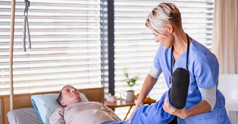 El número de pacientes en las unidades de Fisioterapia aumenta debido a la COVID-19