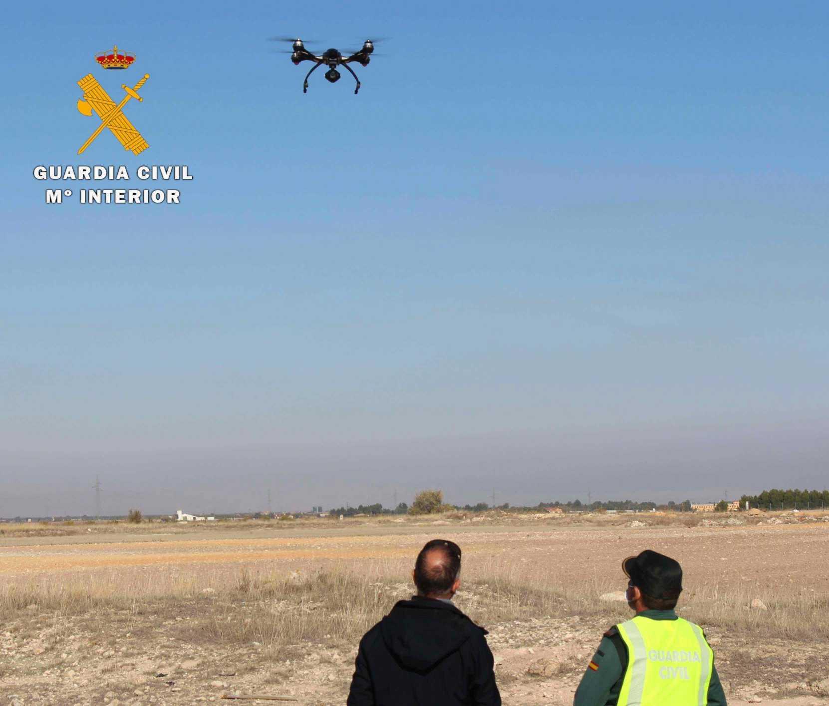 El equipo PEGASO de la Guardia Civil de Albacete denuncia a una persona por varias infracciones a la normativa de seguridad aérea