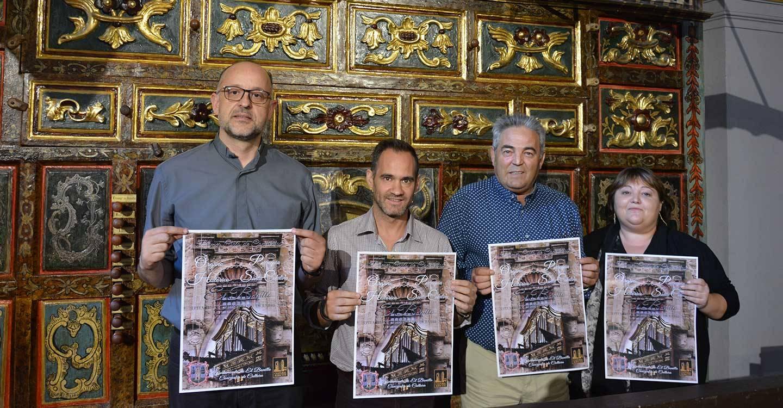 """Presentado el I Ciclo de música """"Suena el órgano en el Bonillo"""""""