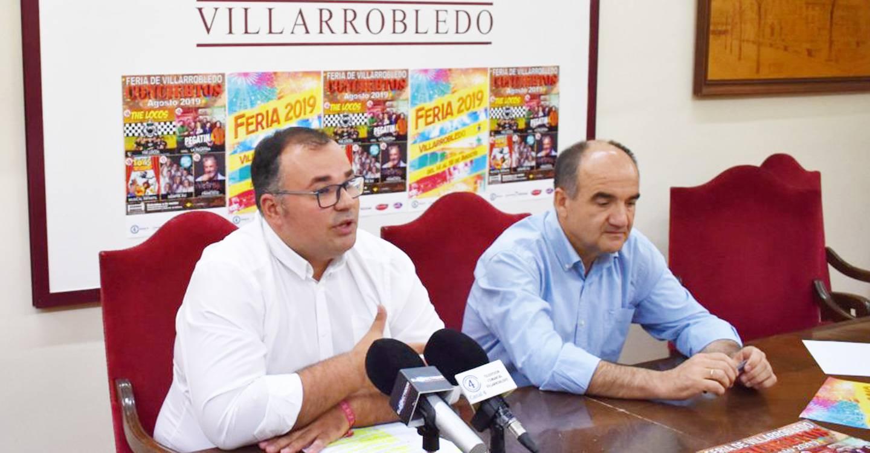Presentados los conciertos de la Feria y Fiestas 2019 en Villarrobledo