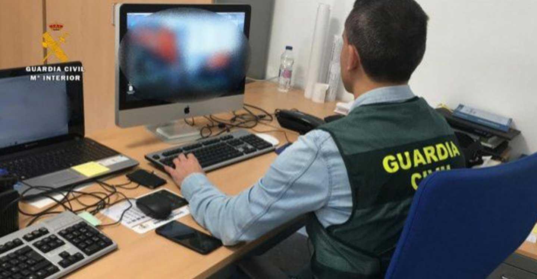 La Guardia Civil de Villarrobledo desarticula una red criminal internacional dedicada a cometer estafas a través de Internet