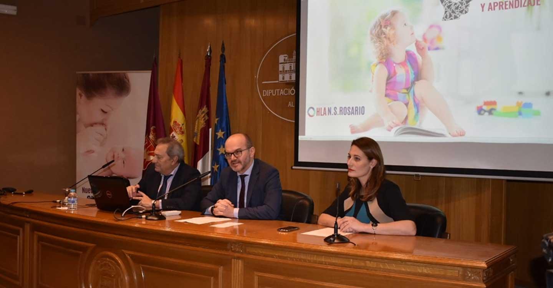 García, orgulloso de que la Casa Provincial vuelva a ser el escenario de una cita en la que se aborden temas de interés para la salud de la población