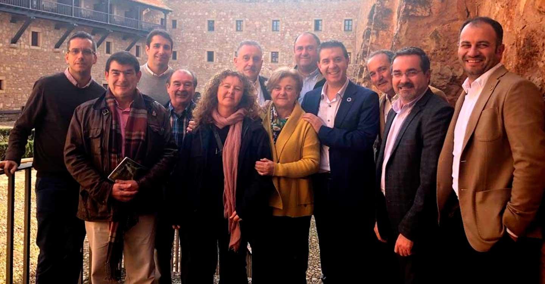Santi Cabañero asiste al Congreso 'Despoblación: un reto político (y poético)' celebrado en Sigüenza