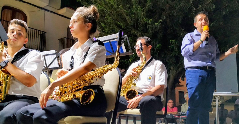 Santiago Cabañero asegura que la Diputación seguirá trabajando por dar mayor visibilidad a la música de banda en el conjunto de la provincia