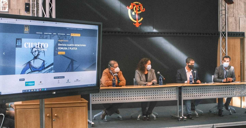 Tierraseca reitera el apoyo del Gobierno de España a la industria de la cultura y a sus trabajadores en la presentación del programa de invierno de Cultural Albacete
