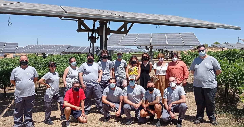 Una quincena de desempleados se forman con CCOO CLM para poder tener un empleo en montaje y mantenimiento de instalaciones solares fotovoltaicas