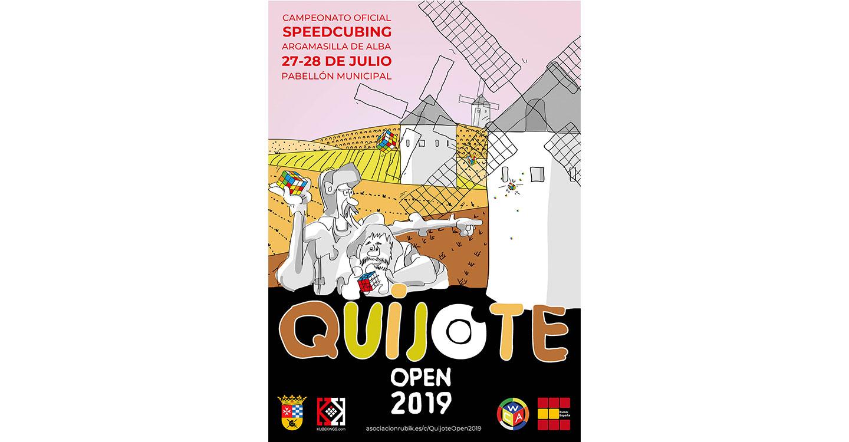 Argamasilla de Alba acogerá los días 27 y 28 de julio el Quijote Open 2019 del cubo de Rubik