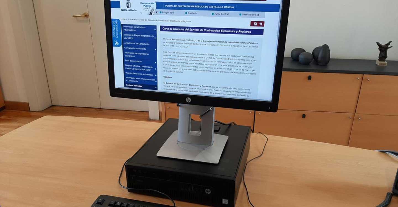 El Gobierno de Castilla-La Mancha aprueba una Carta de Servicios de Contratación Electrónica y Registros para avanzar en la administración digital
