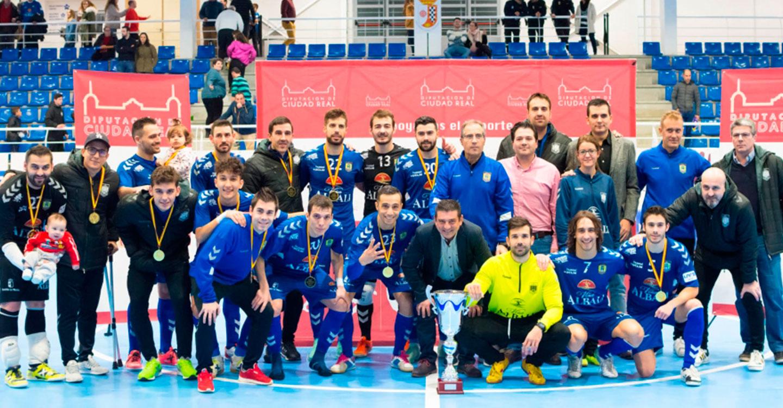 El Viña Albali Valdepeñas se proclamó campeón del VII Trofeo Diputación de Fútbol Sala