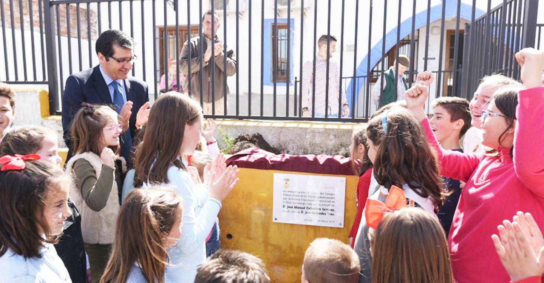 La Diputación ha invertido medio millón de euros en Saceruela a lo largo de esta legislatura