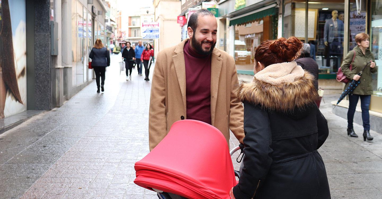 González Caballero asegura que la ampliación del permiso de paternidad que entra en vigor hoy beneficiará a cerca de 4.000 ciudadrealeños cada año
