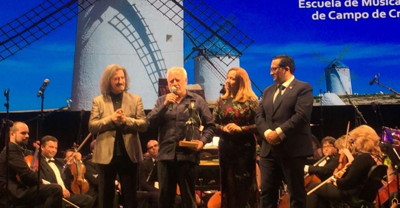 """Cobos llena de """"Fantasías"""" la Gala Quijote de la Música de Criptana"""