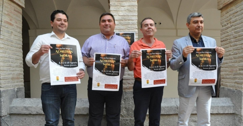 Presentado el III Festival Almedina Mora, un evento dinamizador y participativo que cuenta con el apoyo de la Diputación