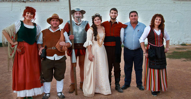 La Tornaboda de Basilio y Quiteria, con Don Quijote y Sancho, desafió a la vendimia y atrajo a más de 600 personas a Carrizosa