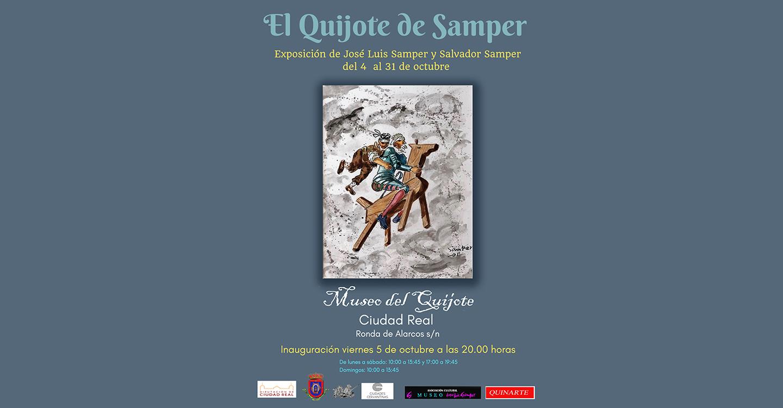 """Inauguración de la exposición """"EL QUIJOTE DE SAMPER"""""""