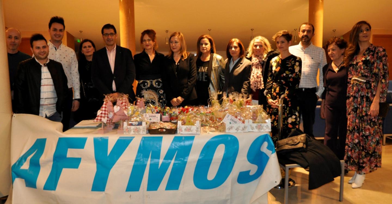 Caballero remarca en la Gala de las Capacidades de AFYMOS su apuesta por las prácticas pre-profesionales para personas con discapacidad