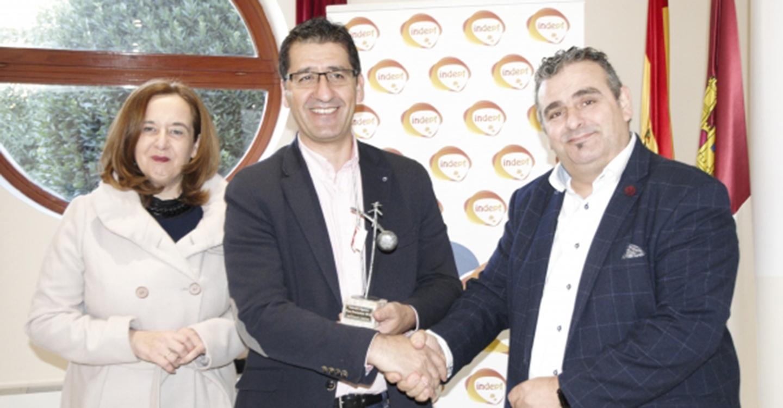 """El presidente de la Diputación recoge en Almagro el Premio """"Gigantes poco Frecuentes"""" del  INDEPF"""