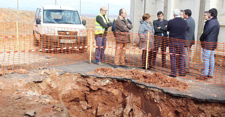 El Gobierno de Castilla-La Mancha mejora el abastecimiento de agua de los municipios de Almagro y Bolaños de Calatrava