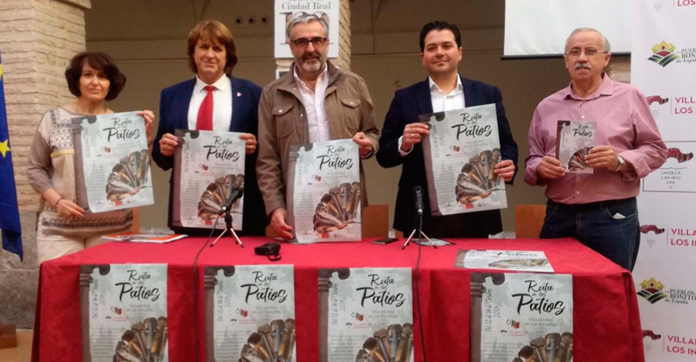 Triguero resalta el apoyo de la Diputación a la sexta edición de la 'Ruta de los Patios' de Villanueva de los Infantes