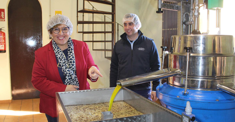 El Gobierno de Castilla-La Mancha contribuye a la implantación de mejoras tecnológicas en la almazara 'Heredad de Monteagudo' con una inversión de 75.000 euros