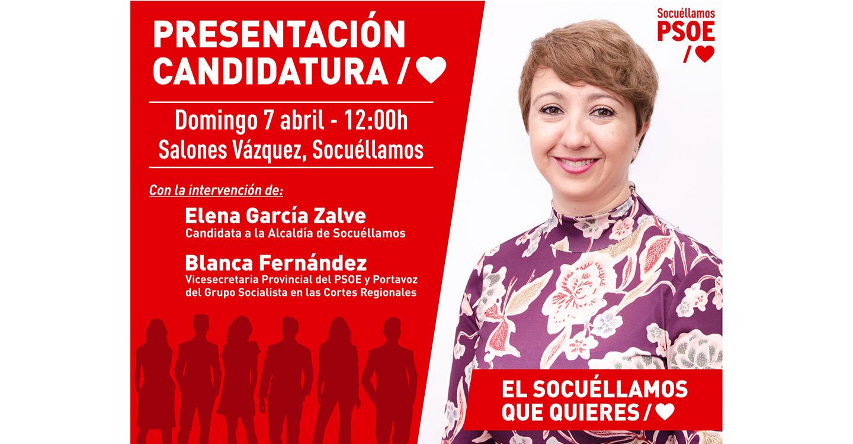 El PSOE de Socuéllamos presenta públicamente su Candidatura a las Elecciones Municipales
