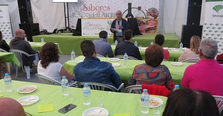 FERDUQUE ensalza la calidad de los productos de la comarca en 'Sabores del Duque'