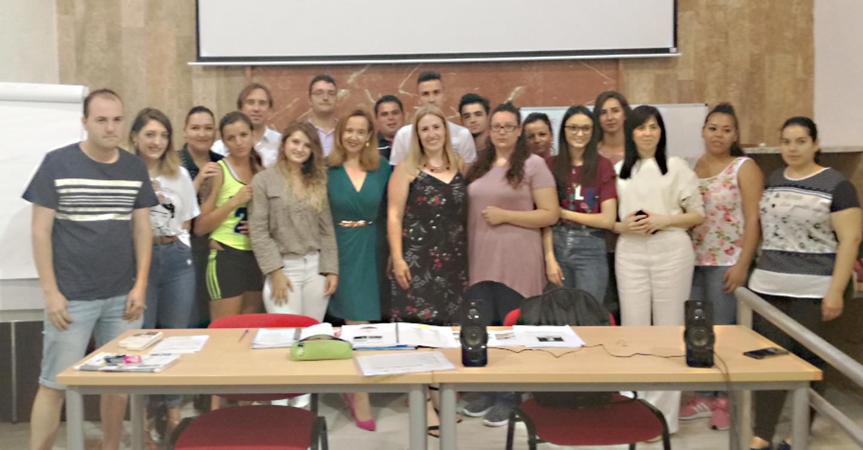 Monroy asiste en Almagro a la última inauguración del Emplea, programa con el que se han formado 400 jóvenes en la provincia