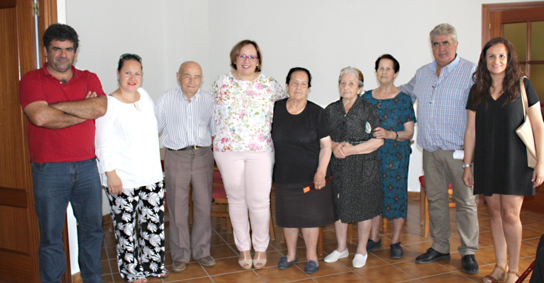 La delegada de la Junta, Carmen Olmedo, ha visitado esta localidad